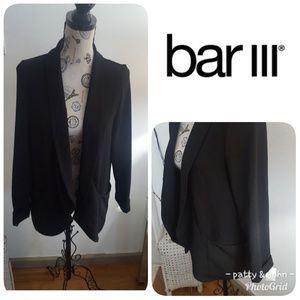 Bar III Women's Black Jacket Size Large